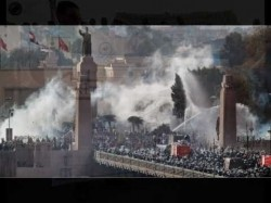 فض مظاهرات 25 يناير