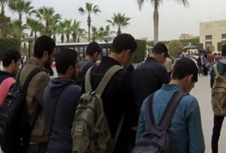 """طلاب 6 أكتوبر يؤدون صلاة الغائب علي الشهيد """"خالد سعيد"""""""