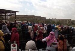فيديو.. طالبات الأزهر بالقاهرة ينتفضن للتنديد بجرائم الانقلاب