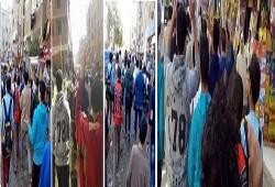 بالصور.. مسيرة لطلاب ضد الانقلاب بشبرا الخيمة