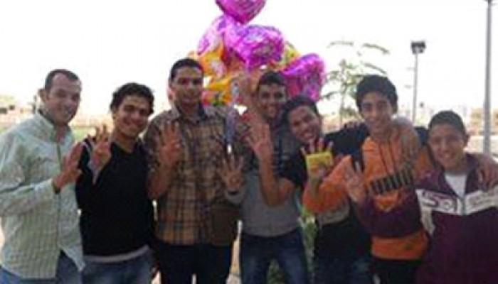 """""""شباب زايد ضد الانقلاب"""" يحتفلون بالعيد مع أبناء وبنات الشهداء والمعتقلين"""