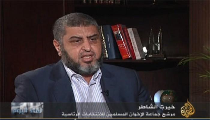 """الشاطر: أتوقع استجابة """"العسكري"""" لقانون عزل الفلول"""