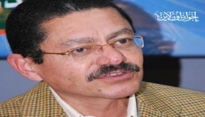 """د. رفيق حبيب: """"الحرية والعدالة"""" يسعى للتوافق الوطني"""