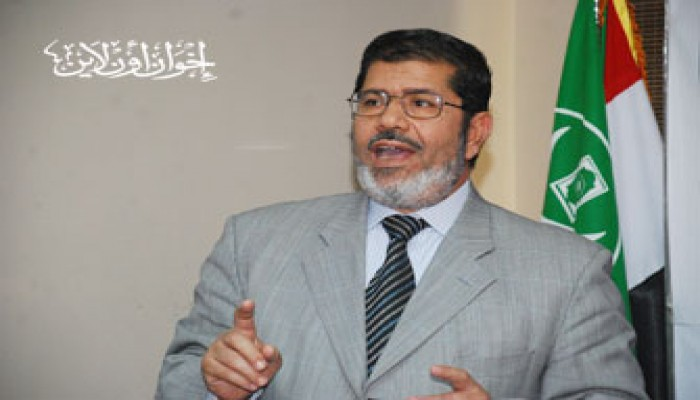 د. مرسي: مصلحة مصر أساس مشاركتنا في الانتخابات