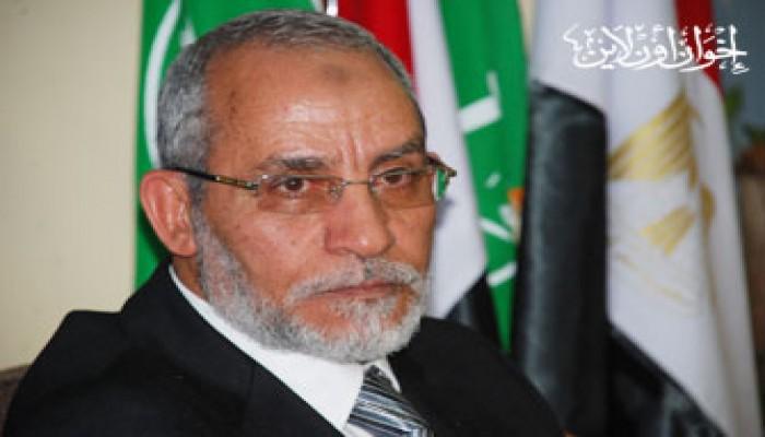"""المرشد العام يعزي """"الوفد"""" في محمد علوان"""