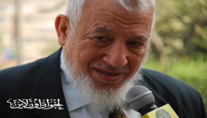 المرشد العام يعزي الحاج طلعت الشناوي في وفاة عمه