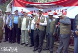 قافلة الحرية المصرية.. لحظةً بلحظة
