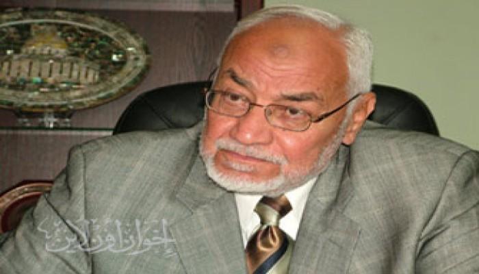 المرشد العام يطالب الأمة برفع الحصار عن غزة