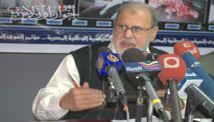 د. محمد حبيب: محاكمة مجدي حسين عسكريًّا مرفوضة