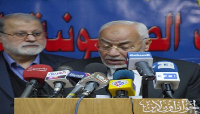 المرشد العام يدعو إلى صد العدوان الصهيوني المتوقَّع على غزة