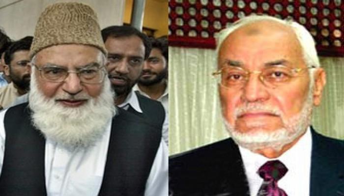 المرشد العام يعزي قاضي حسين في وفاة د. علوي