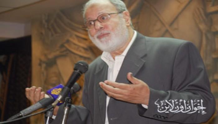 د. حبيب والكتلة البرلمانية في تأبين إبراهيم شكري