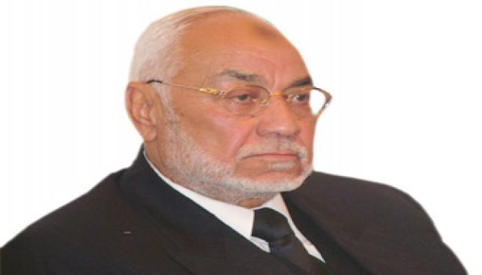 المرشد العام يعزي الدكتور حمدي شاهين في وفاة والدته