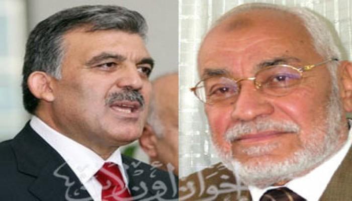 المرشد العام يهنِّئ عبد الله جول برئاسة تركيا