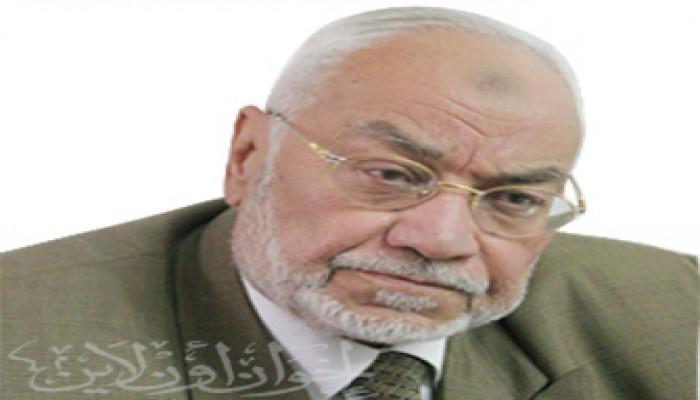 المرشد العام يشارك في تشييع جنازة المهندس فؤاد هارون