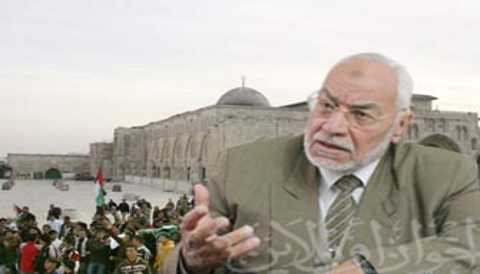 المرشد العام: فلسطين كلها أرض إسلامية