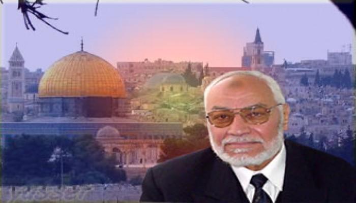 """اليوم.. المرشد العام يلقي كلمة دعم لحماس على غرفة """"فلسطين المسلمة"""""""