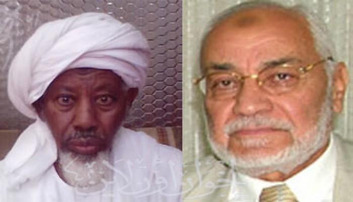 المرشد العام يستقبل وفد الإخوان المسلمين بالسودان