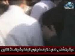 هيثم الشامي ضابط المباحث يمارس البلطجة بالمحلة
