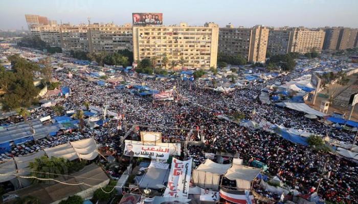 حتى لا ننسى.. من ذكريات عيد الفطر بميدان رابعة (فيديو)
