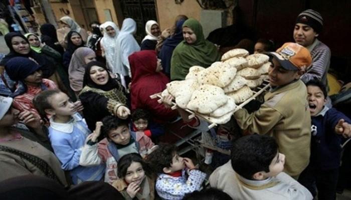 حكومة الانقلاب تعترف بحذف 10 ملايين مواطن من منظومة الخبز
