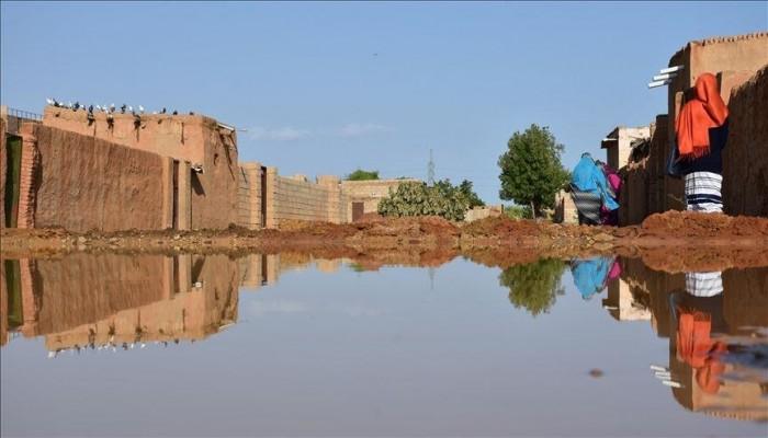 السودان.. انهيار 163 منزلًا جراء السيول جنوب دارفور