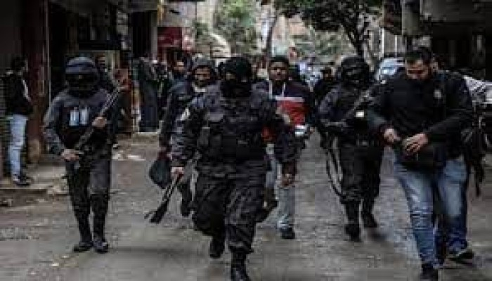 داخلية الانقلاب تشن حملة اعتقالات واسعة بالغربية
