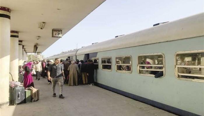 حكومة الانقلاب ترفع رسوم الانتظار داخل محطات القطار 300%