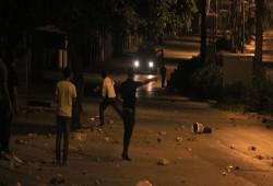 مواجهات في جنين وإلقاء عبوات على حاجز للاحتلال