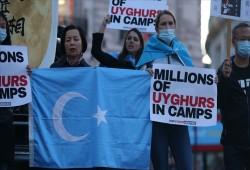 لندن..وقفة احتجاجية تندد بقمع الصين للأقليات
