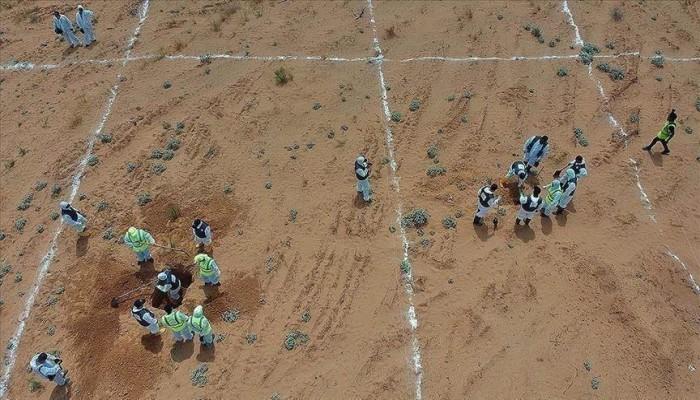 ليبيا.. انتشال رفات 10 جثث من مقبرتين بمكب قمامة في ترهونة