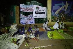 السودان.. الميثاق الوطني يبدأ اعتصاما مفتوحا أمام القصر الرئاسي