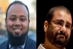 نيابة الانقلاب تحيل علاء عبد الفتاح والباقر وأكسجين إلى محكمة الطوارئ